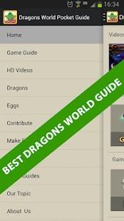 Dragons World Pocket Guide
