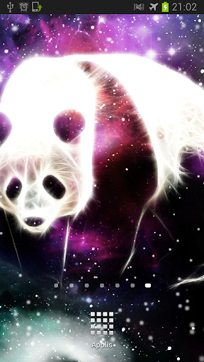 Starfield Panda Galaxy LWP