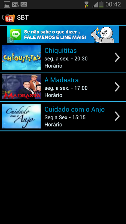 Novelas do Brasil - screenshot