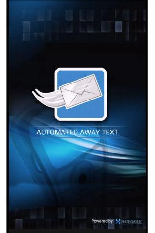 Automated Away Text - screenshot