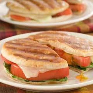 Tomato & Swiss Panini Rounds