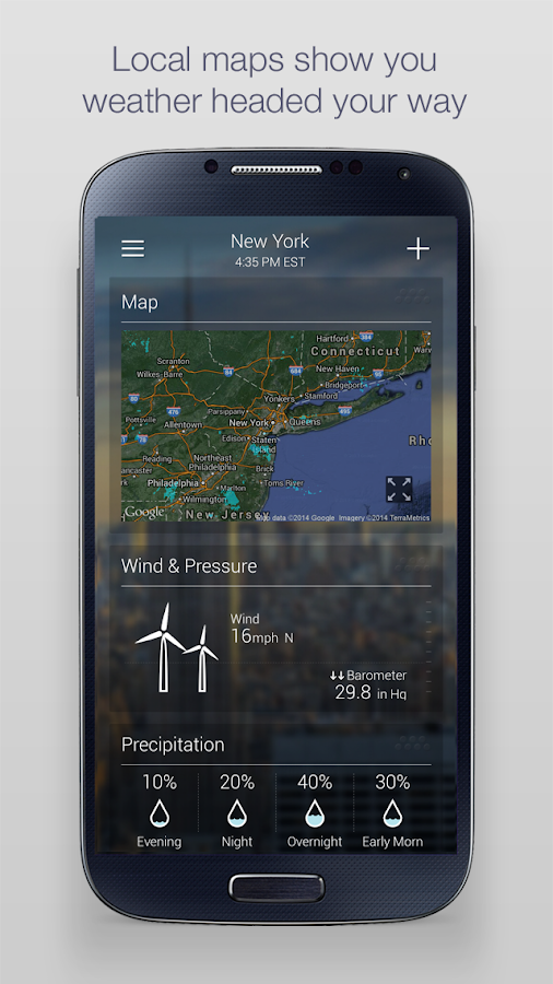 Yahoo Weather Android Apps on Google Play
