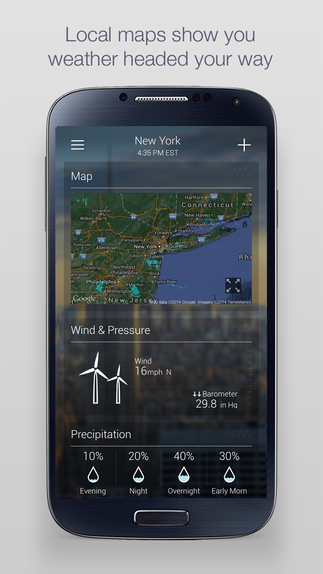 Yahoo Weather screenshot #4