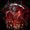 Red Grim Reaper Live Wallpaper