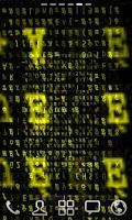 Screenshot of 3D Matrix2 Live wallpaper