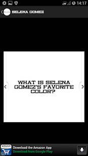 Selena Gomez Quiz - screenshot thumbnail