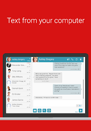 SMS Text Messaging -PC Texting Screenshot 2