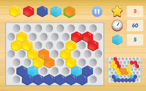 Hexagon Puzzle Game- screenshot thumbnail