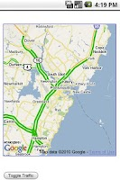 Screenshot of I-95 Exit Guide
