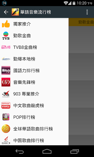 華語音樂流行榜