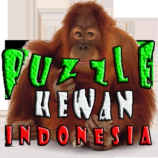Puzzle Hewan Indonesia