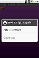 Screenshot of Atrapa Un Pastón Trivial