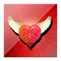 Flying Heart Live Wallpaper icon