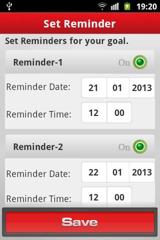 【免費生活App】Goals 2013-APP點子