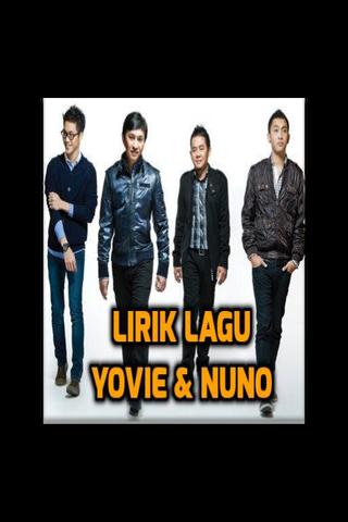 YOVIE AND NUNO LIRIK LAGU