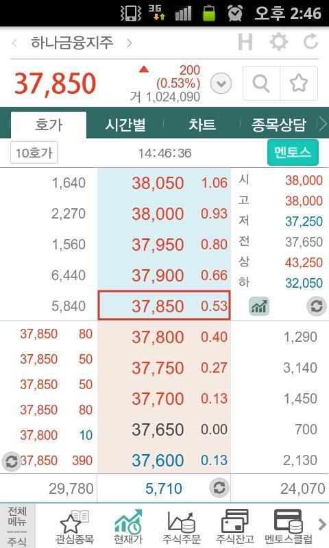 스마트하나HT (증권거래앱) 하나대투증권 - screenshot