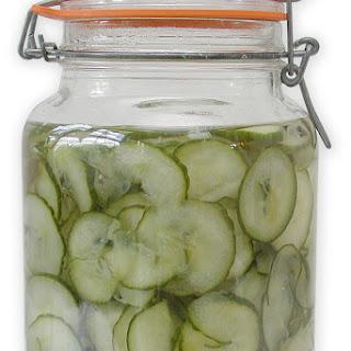 Agurkesalat (Danish Cucumber Salad) Recipe