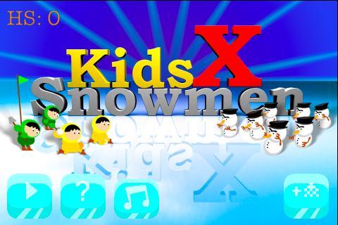 Kids X Snowmen