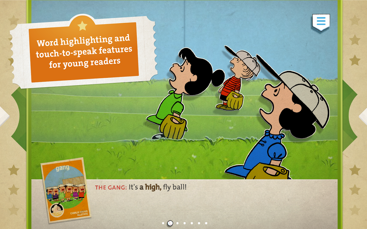 Charlie Brown's All Stars!- screenshot
