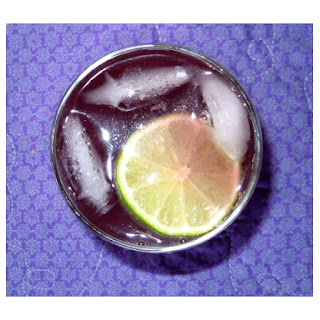 Berry Ginger Lime Balsamic Cooler