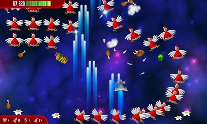 Chicken Invaders 3 Xmas HD - screenshot