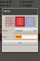 Screenshot of Yacht Dice Game