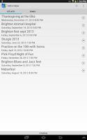 Screenshot of Setlist Helper and Song Book