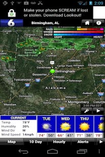 FOX6 WBRC StormWarn Center - screenshot thumbnail