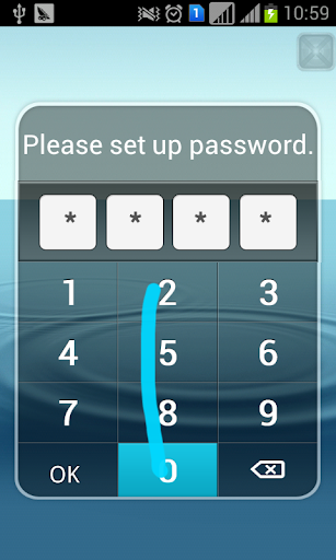 X App Hider lock application