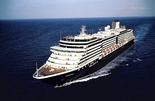 Holland-America-Zuiderdam -  Holland America's Zuiderdam sails the Panama Canal, the Caribbean and up and down the Pacific Coast.