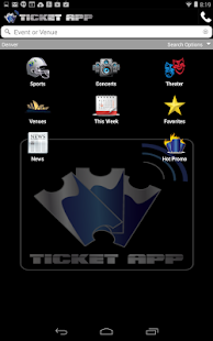 TICKET APP - Concerts & Sports- screenshot thumbnail