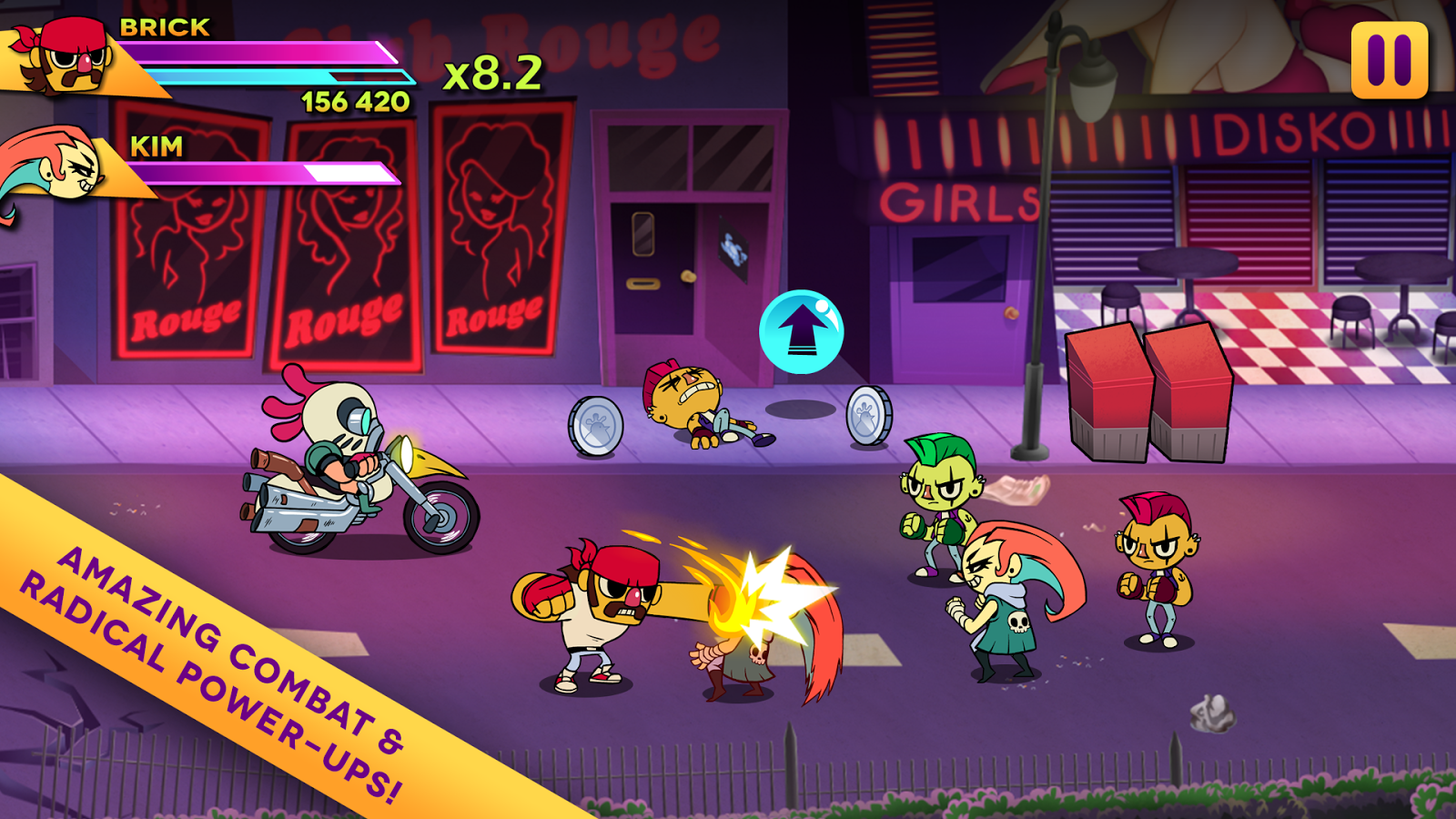 Big Action Mega Fight!- screenshot