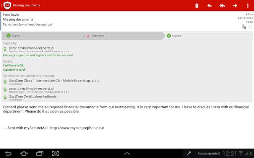【免費通訊App】my Secure Mail - 郵件客戶端-APP點子