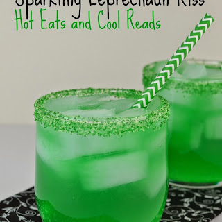 Sparkling Leprechaun Kiss Drink.