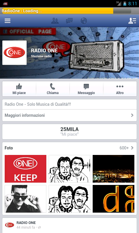 Radio One - screenshot