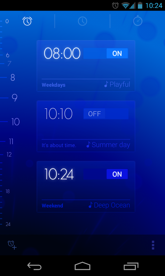 Timely Alarm Clock - screenshot
