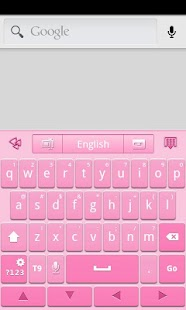 Pink GO Keyboard Theme