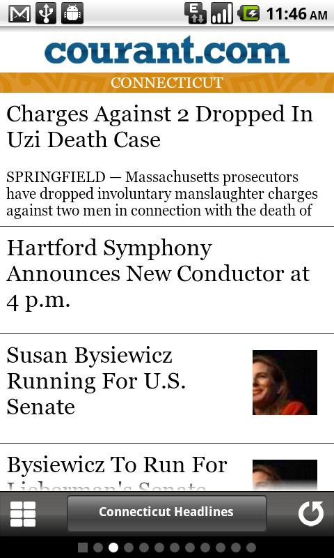 Courant.com Connecticut News - screenshot
