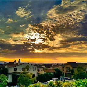 Sunset in San Jose by Jignashu Parikh - Landscapes Sunsets & Sunrises