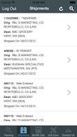 Screenshot of XPO Global Logistics