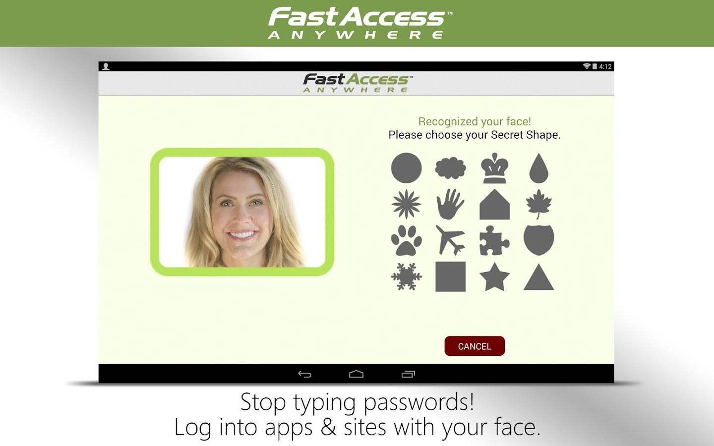 Face Recognition-FastAccess - screenshot