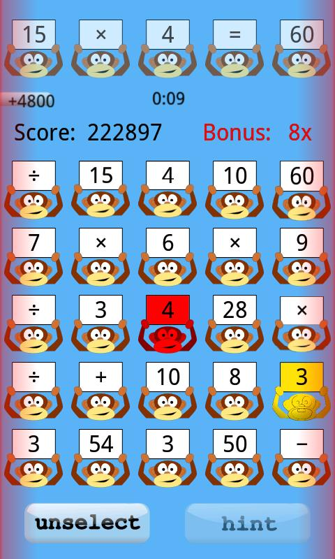 Einstein Math Academy Gold - screenshot