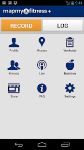 MapMyFitness+ Workout Trainer - screenshot thumbnail