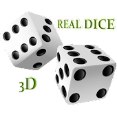 Real Dice in 3d