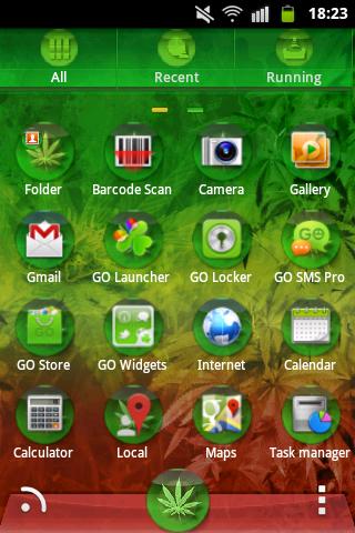 【免費個人化App】GO Launcher EX Theme Rasta Buy-APP點子