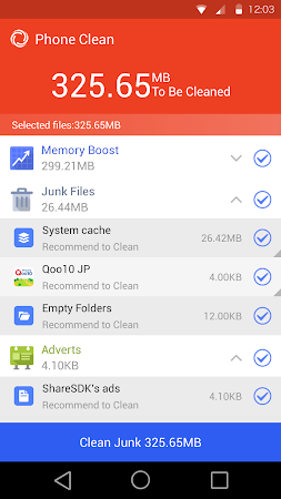 Phone Clean Speed Booster Fast 1.6.7 screenshot 265511