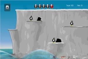 Screenshot of Penguin Dive