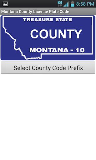 Montana County Code Tool