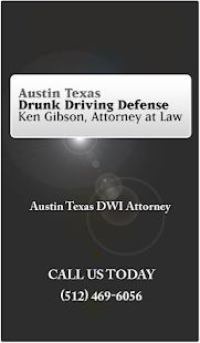 DWI App by Ken Gibson- screenshot thumbnail