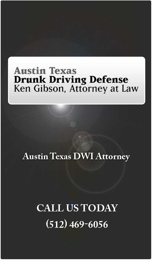 DWI App by Ken Gibson- screenshot